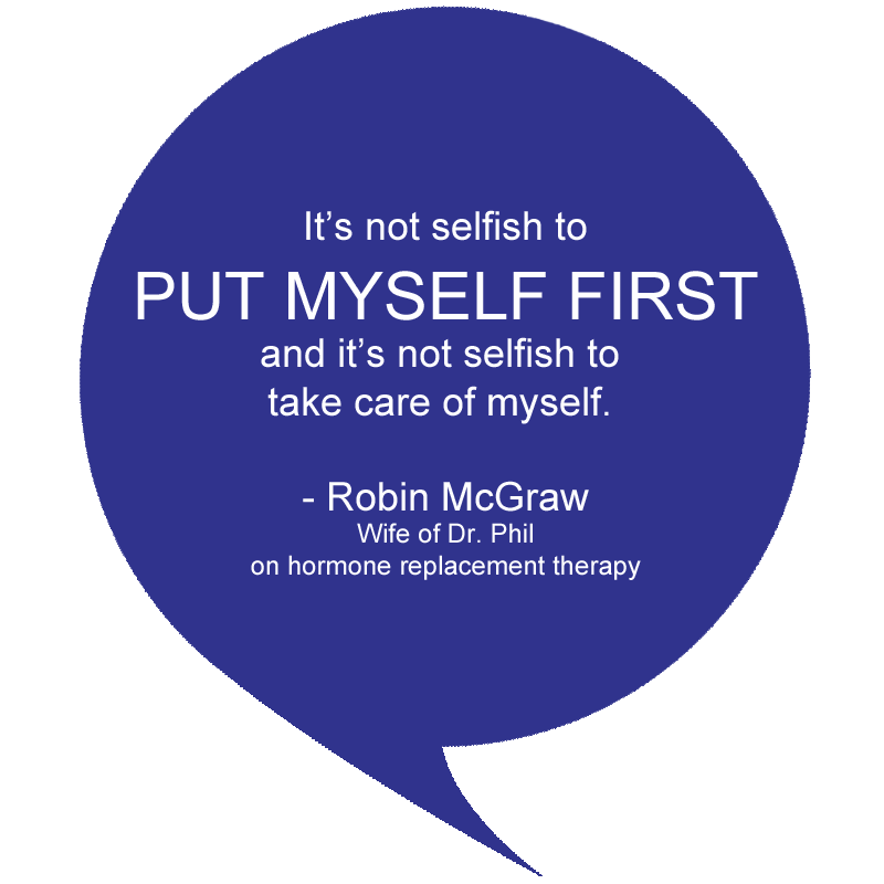 hormone replacement therapy quote