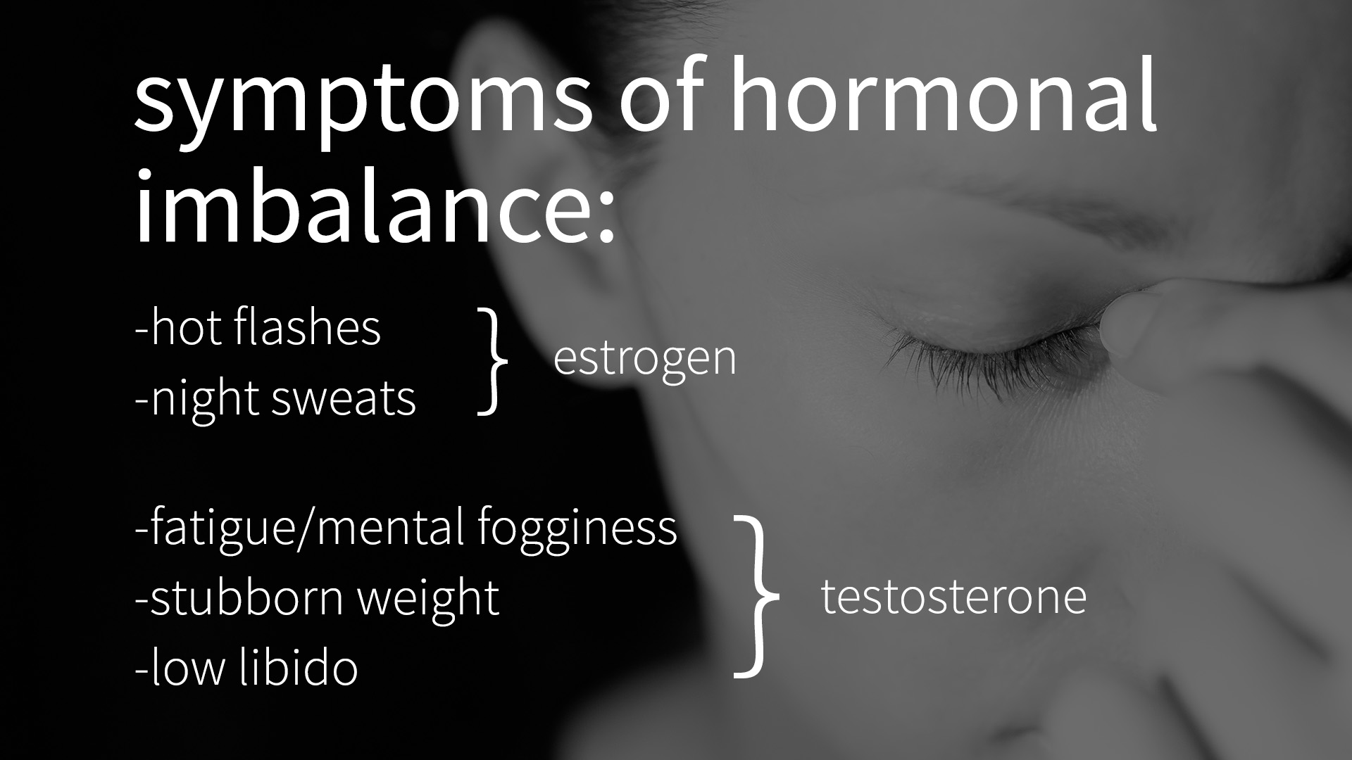 hormonal imbalance, hrt, estrogen, testosterone